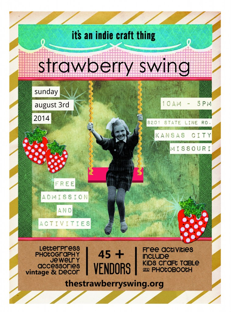2014 Strawberry Swing poster
