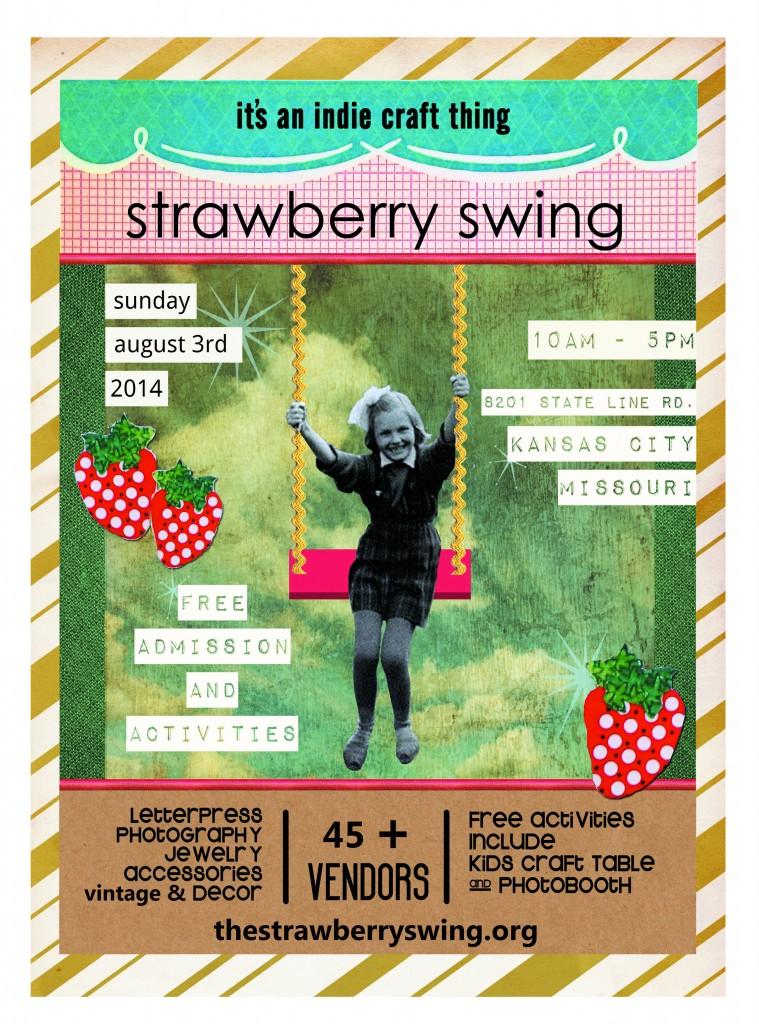 2014 Strawberry Swing poster